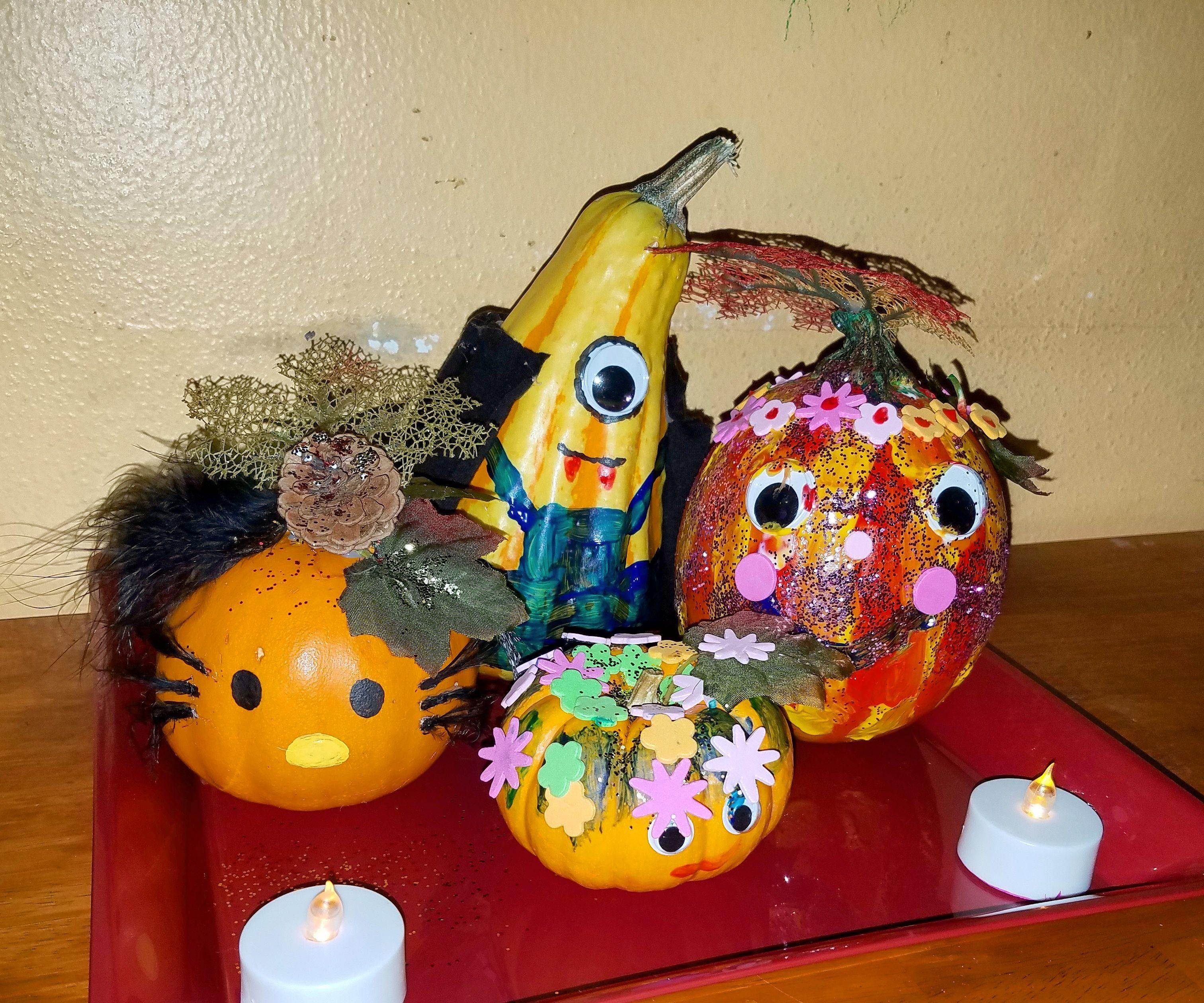 Pumpkin Decorating W/ Kids