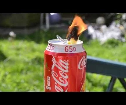 How To Make An Emergency Coke Can Oil Lamp