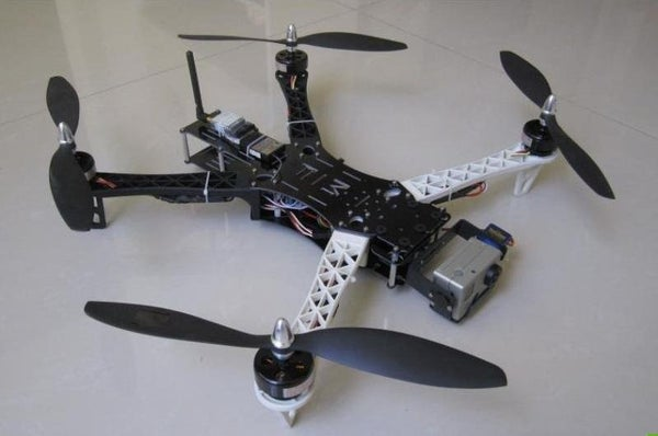 Quadcopter Spy Plane