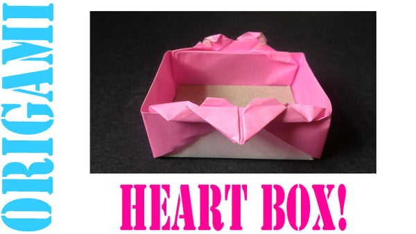 How to Make an Origami Valentine's Day Heart Box - TCGames [HD]