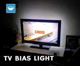Automated TV Bias Light
