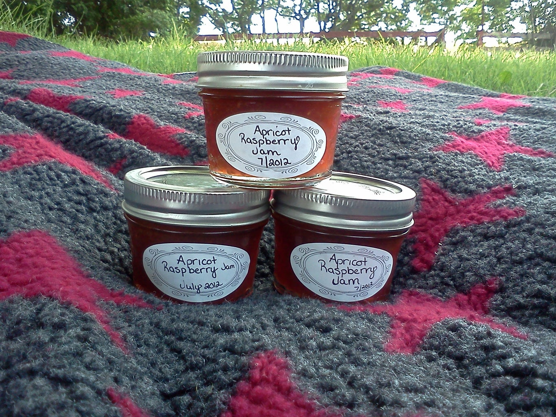 Apricot Raspberry Jam