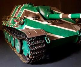 Jagdpanther Rc Tank