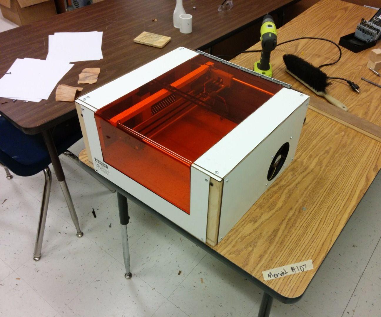 2W Arduino Laser Engraver/Cutter