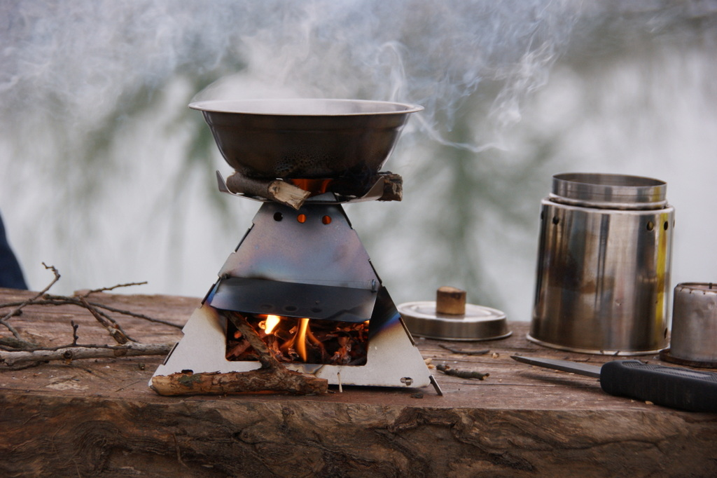 KP pyramid wood stove