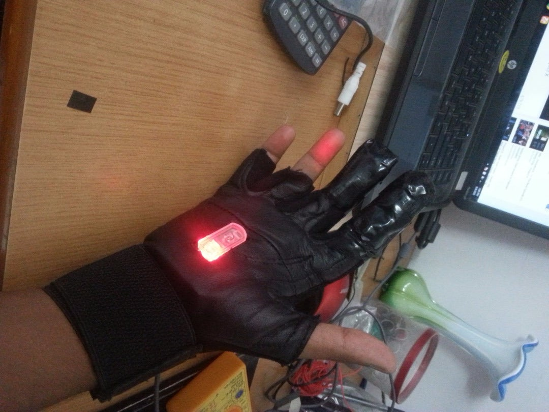 Wearable Mouse!