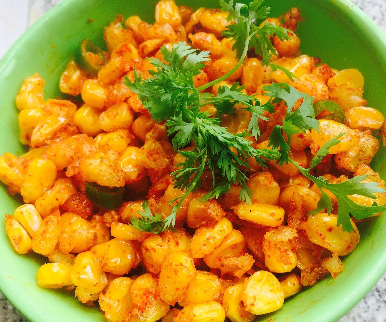 Crispy Corn Chat