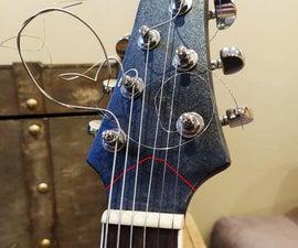 Guitar Neck Repair (Headstock)