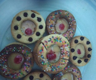 Melt in Your Mouth Center Filled Cookies With Condensed Milk
