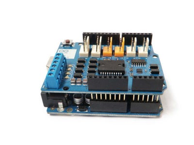Connecting Motor Shield to Arduino