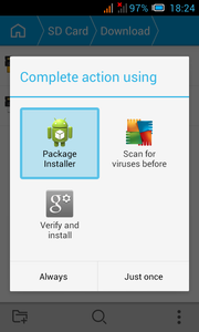 Appliaction for Android.
