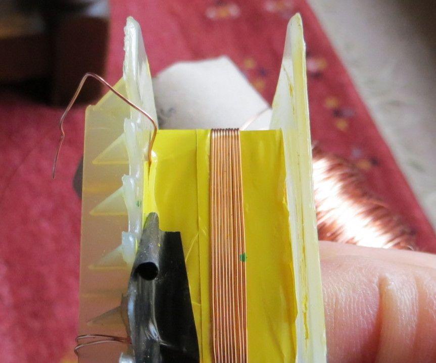 An experiment in transformer rewinding