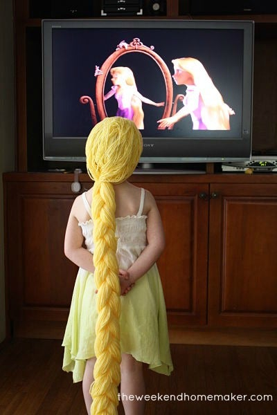 Make Your Own Rapunzel Wig