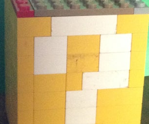 Lego How to Build a Mario Question Block