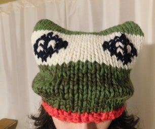 Knit a Froggy Hat