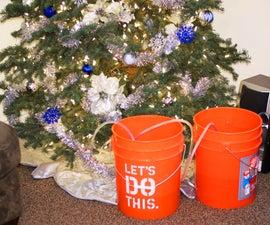 自动圣诞树浇水系统-低技术