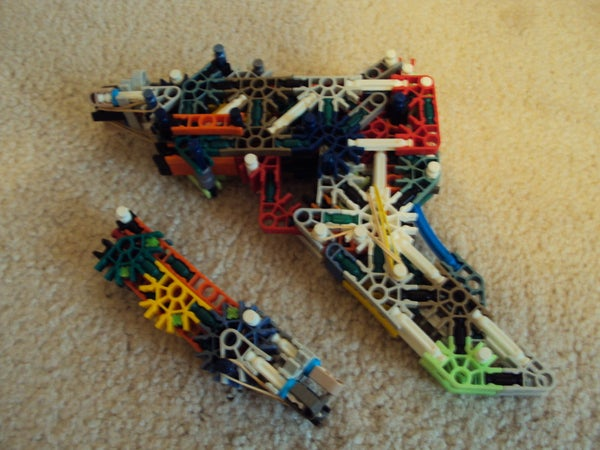 Knex Semi Auto Pistol With Removable Mag