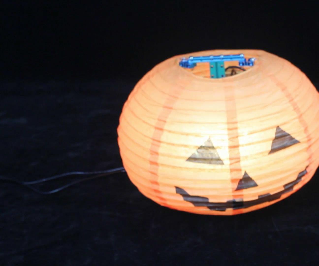 Build The Dancing Pumpkin Lantern