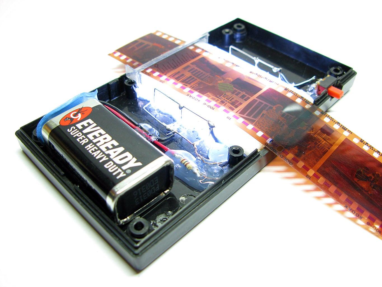 DIY Smartphone Film Scanner