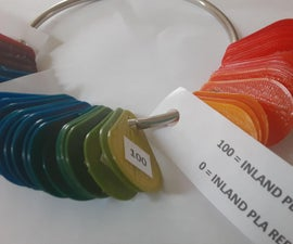 Make a Color Picker With Your Mix-color 3D Printer!