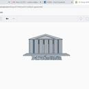 Parthenon on Tinkercad