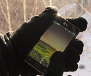 DIY TouchScreen Gloves: Lazy and Quick