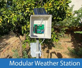 Modular Solar Weather Station