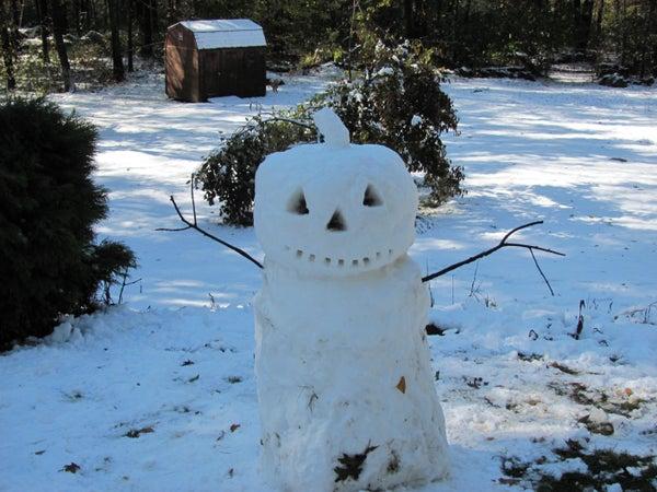 Jack-O-Snow - Halloween Snowman