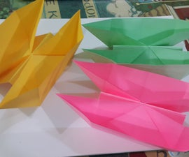 Paper Twin Boat