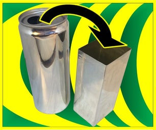 Make Square Shaped Soda Cans
