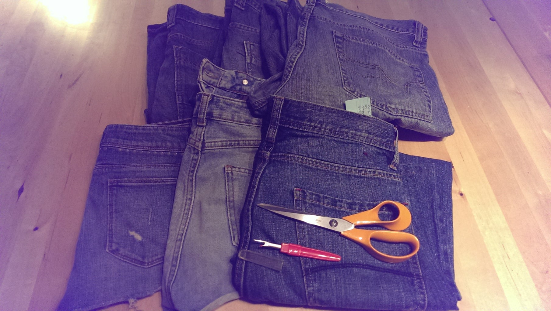 Denim for Upcycling
