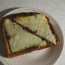 Nutella Cheesy Toast