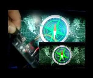 Arduino & Processing - HMC5983 GY 282 Arduino & Processing COMPASS