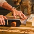 Scrap Wood Shooting Board - Hand Tool Woodworking for Beginners
