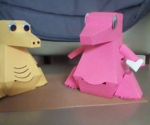 Moving Paper Dragon Piggy Bank