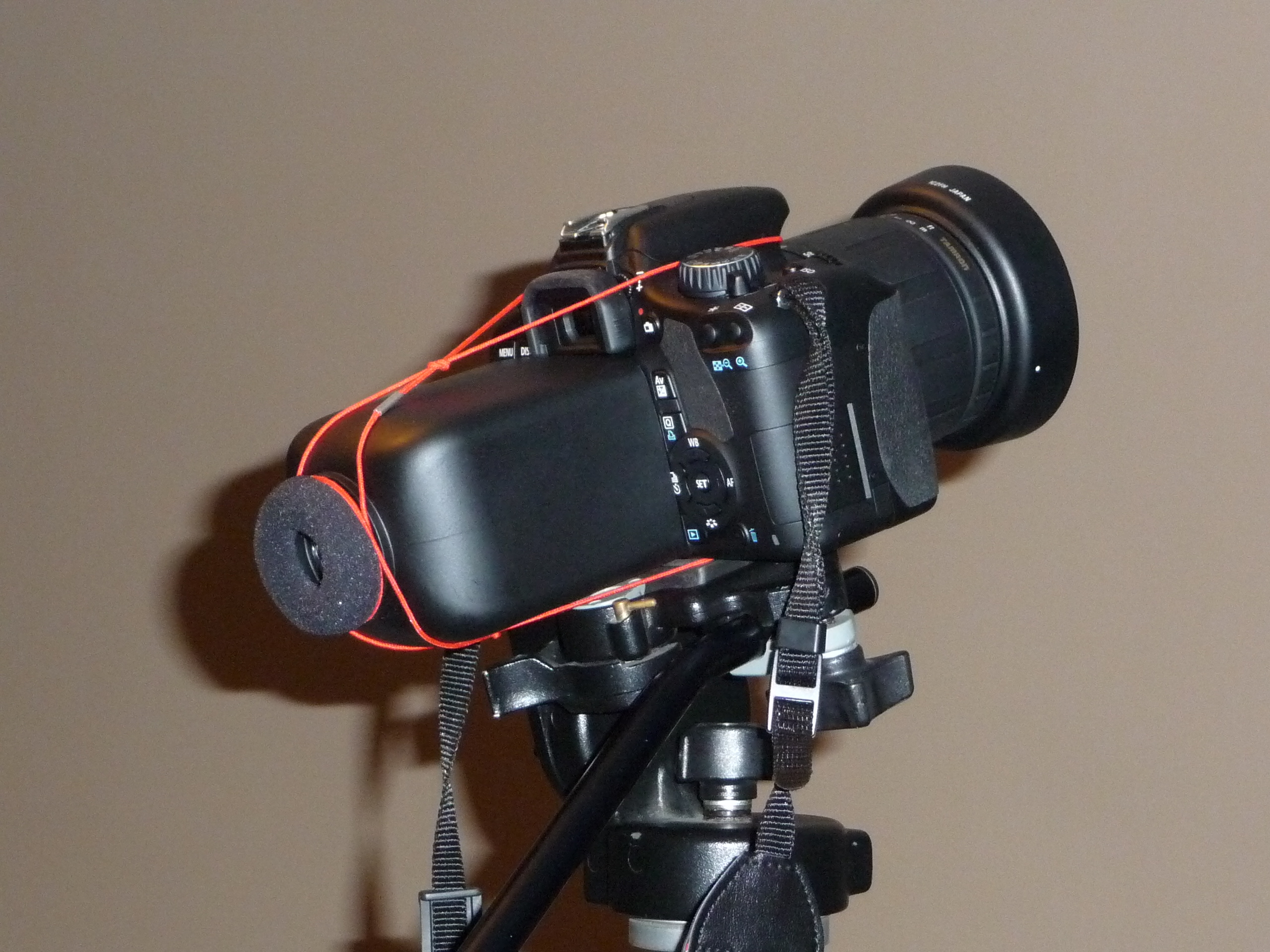 HOMEMADE DSLR VIEWFINDER - DIY LCD Z-Finder