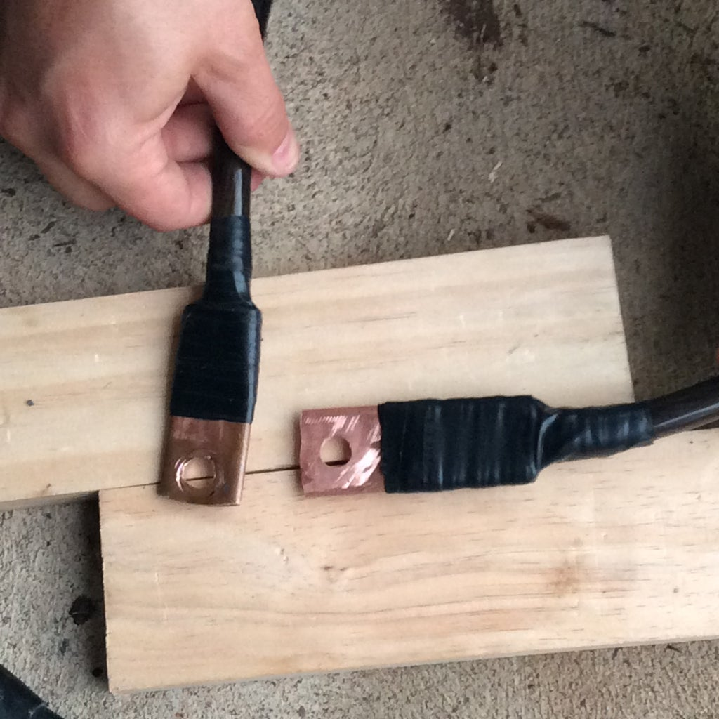 Cable Terminals - High Current - for Off Grid Solar Batteries