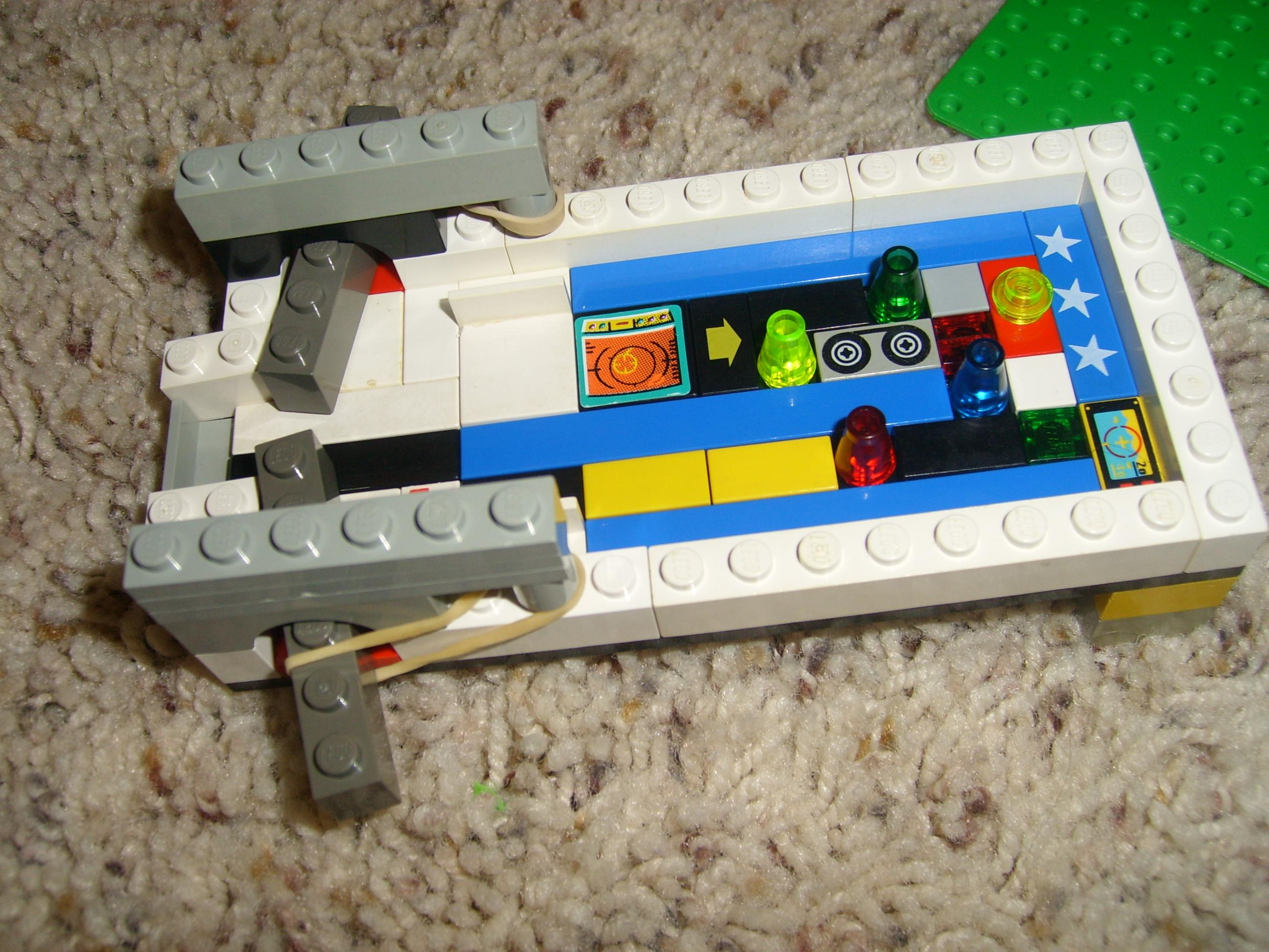 The Mini Lego Pinball Machine