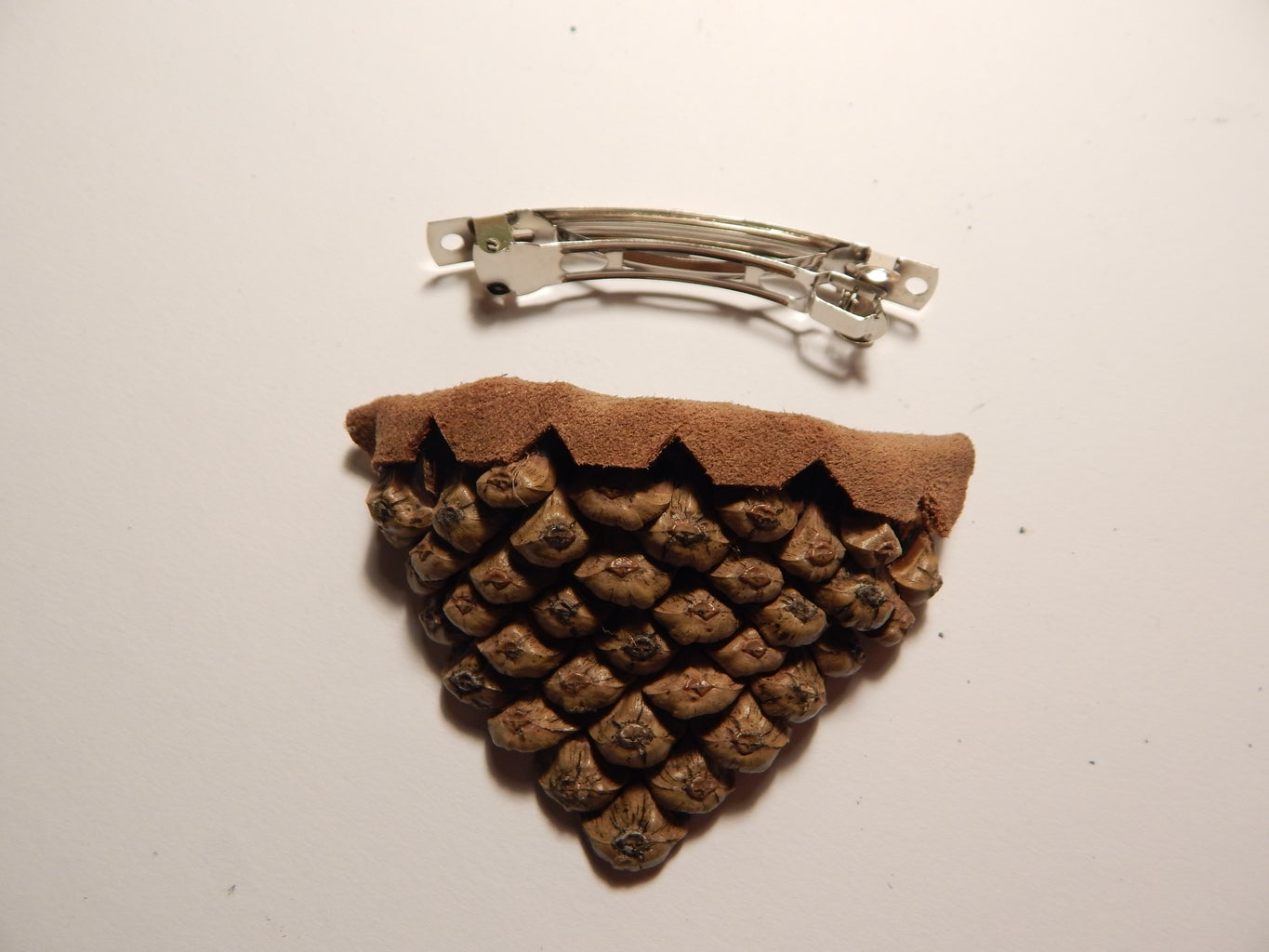 Pine Cone  Buckle
