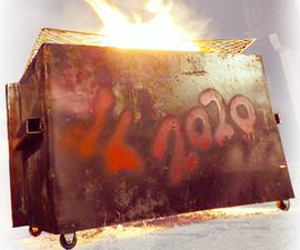 垃圾箱火坑(易焊接项目)