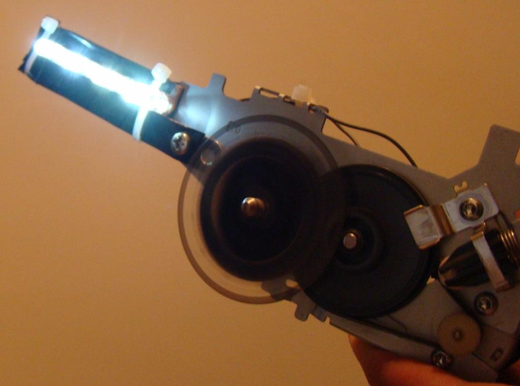 DC motor as a generator