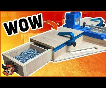DIY Kreg Jig Pocket Hole Station
