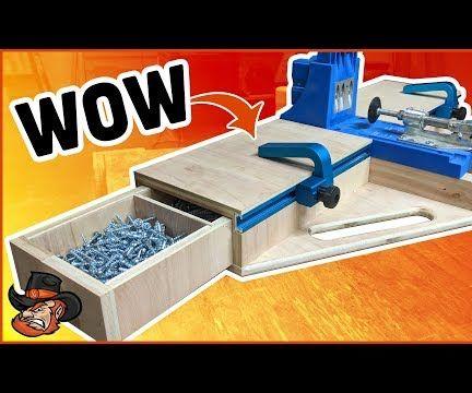DIY Kreg Jig Pocket Hole Station