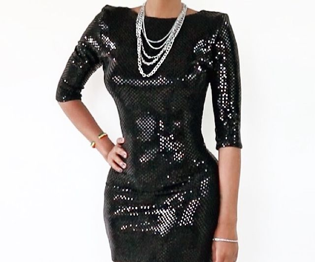 How to Make a New Year's Sequin Dress