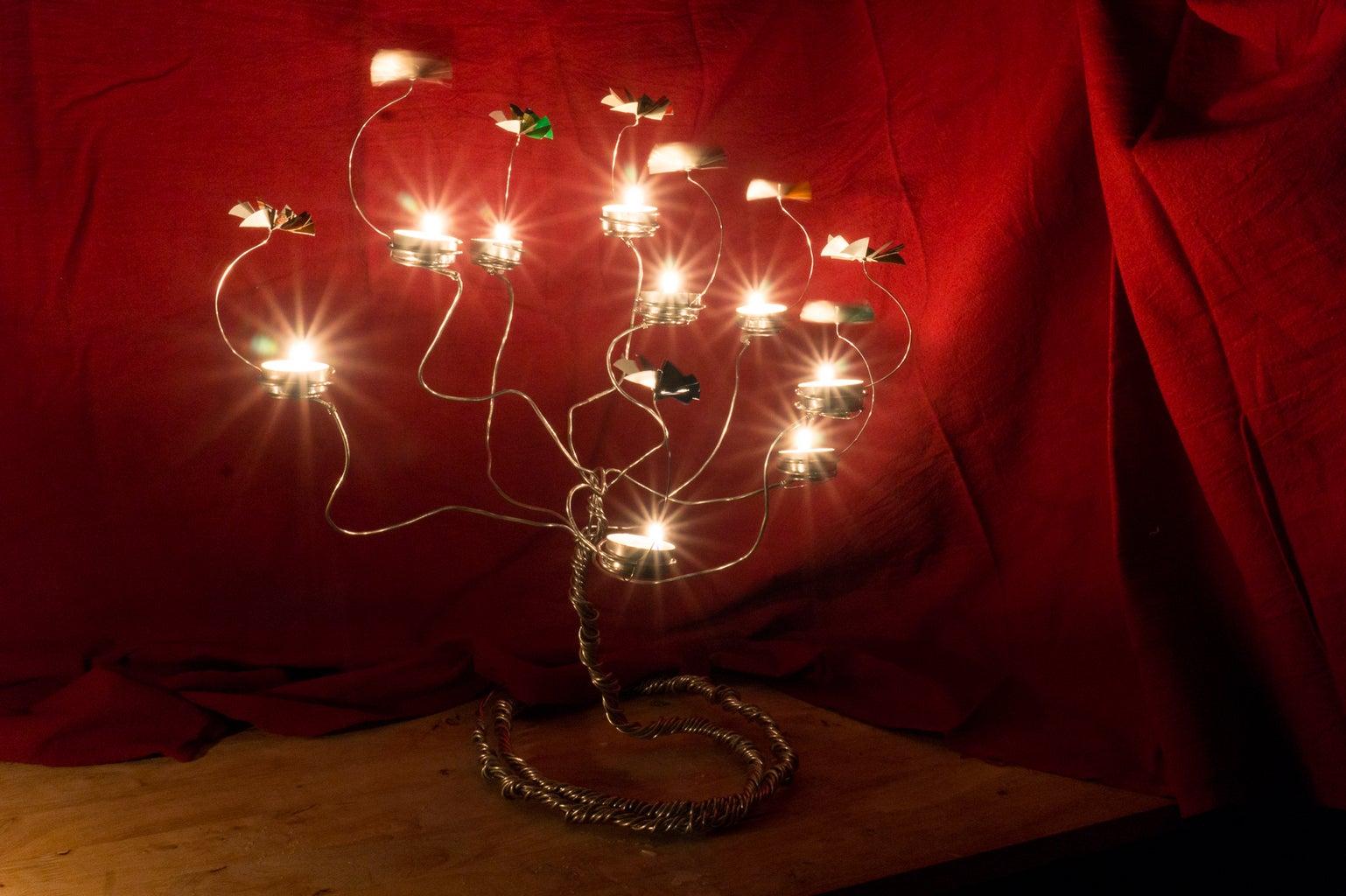 Candle Carousel Tree