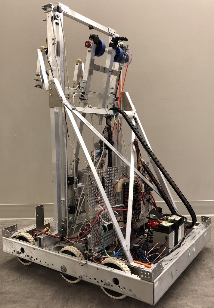 Complete Robot and Electrical Systems
