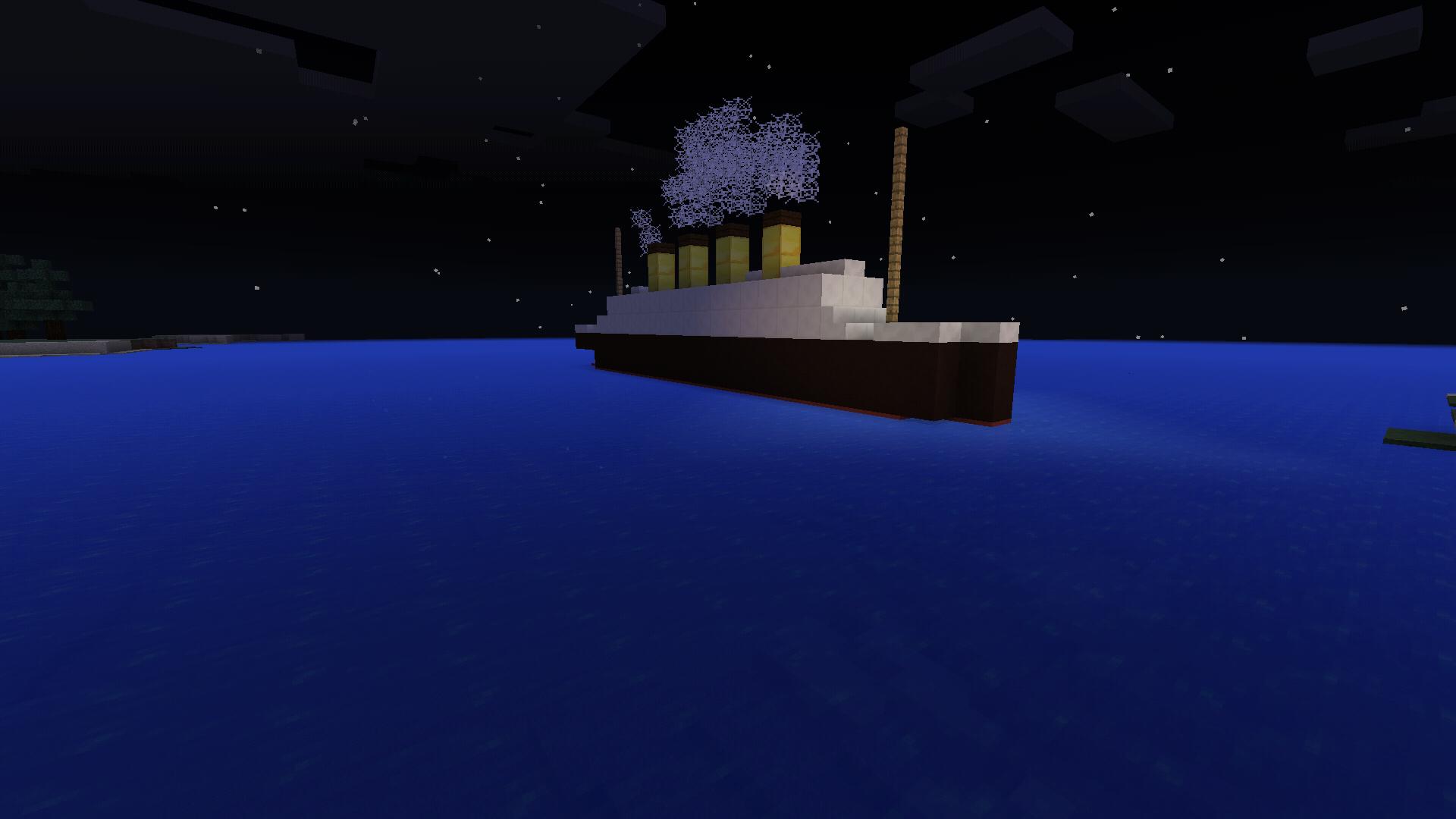 Minecraft PE - Mini RMS Titanic Tutorial