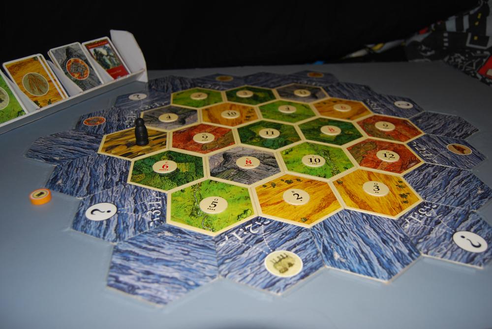 Settlers board game