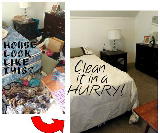 Cleaning a Messy House (In a Hurry!)