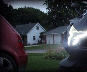 DIY Motorcycle LED Daytime Running Lights (DRL) Mod